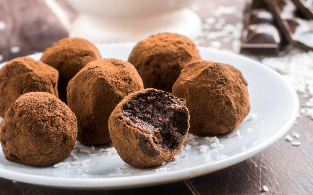 Raw Orange Cacao Truffles